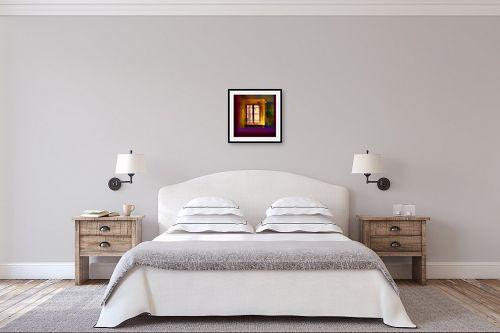 תמונה לחדר שינה - אורית גפני - כל הצבעים בפנים - מק''ט: 302727