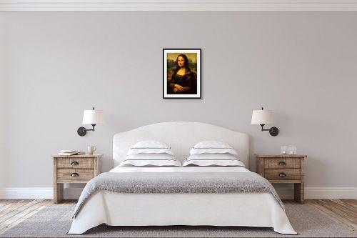תמונה לחדר שינה - לאונרדו דה וינצי - מונה ליזה - מק''ט: 303466
