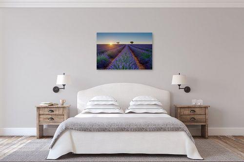 תמונה לחדר שינה - דורית ברקוביץ - פריחת הלבנדר - מק''ט: 304520