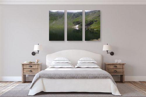תמונה לחדר שינה - דן ששתיאל - שלוגית בהישתקפות - מק''ט: 305662