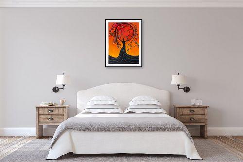 תמונה לחדר שינה - אסתר חן-ברזילי - אלת עץ הריקוד - מק''ט: 306094