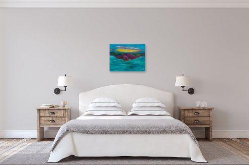 תמונה לחדר שינה - אסתר חן-ברזילי - יופיו של הטבע - מק''ט: 306117