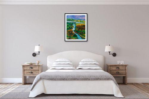 תמונה לחדר שינה - אסתר חן-ברזילי - מה יפית עמק נוי - מק''ט: 306119