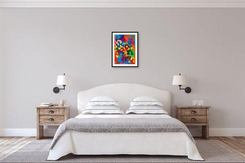 תמונה לחדר שינה - אסתר חן-ברזילי - פאזל - מק''ט: 306122