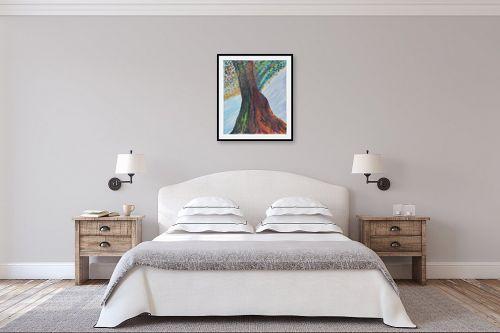 תמונה לחדר שינה - אסתר חן-ברזילי - טנגו באביב - מק''ט: 306152
