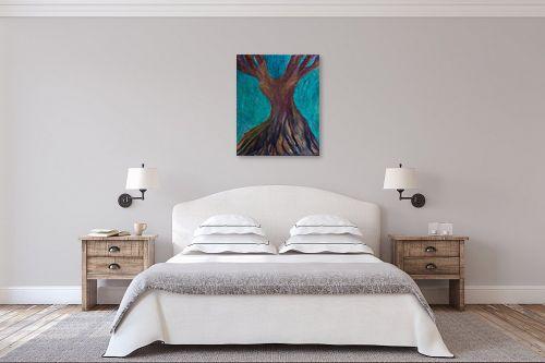 תמונה לחדר שינה - אסתר חן-ברזילי - עץ מרקד - מק''ט: 306208