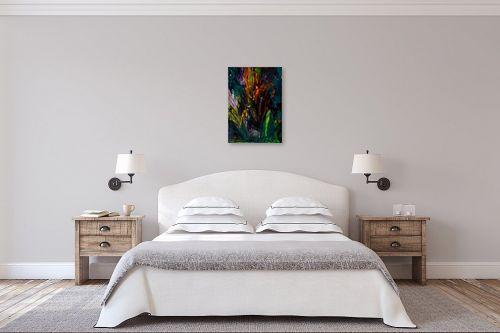 תמונה לחדר שינה - אסתר חן-ברזילי - פריחה  - מק''ט: 306276