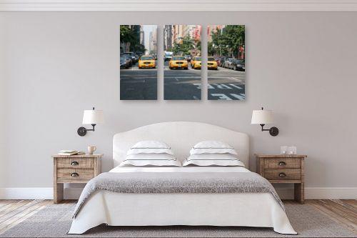 תמונה לחדר שינה - אלי נגר - מונית צהובה - מק''ט: 30636