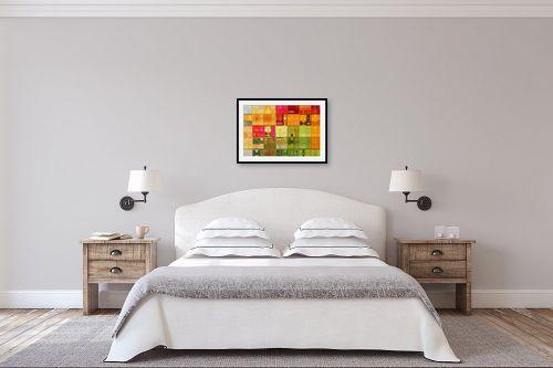 תמונה לחדר שינה - גורדון ארט - סלסלת פירות קיץ - מק''ט: 308119