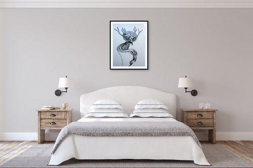 תמונה לחדר שינה - ליה מלחי - לאחר הגשם - מק''ט: 308914