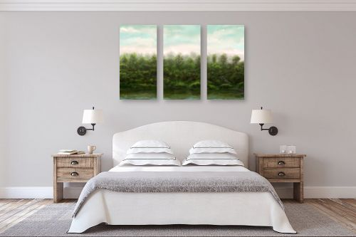 תמונה לחדר שינה - אורי רדלר - גווני נחל - מק''ט: 310916