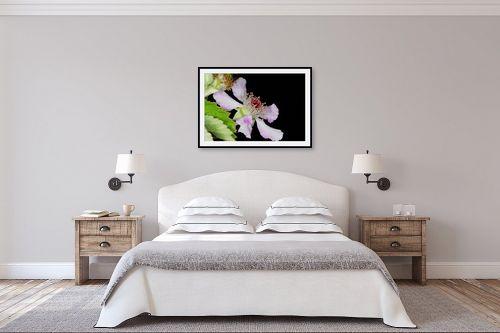 תמונה לחדר שינה - קובי פרידמן - פריחת פטל - מק''ט: 31111
