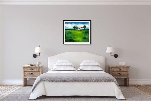 תמונה לחדר שינה - ורד אופיר - בית בכפר - מק''ט: 312089