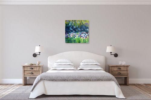 תמונה לחדר שינה - ורד אופיר - פרחי שדה - מק''ט: 312368