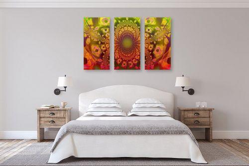 תמונה לחדר שינה - רעיה גרינברג - מנדלה בכתום - מק''ט: 312682