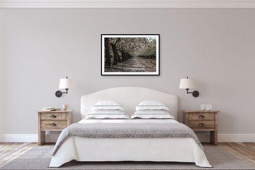 תמונה לחדר שינה - אלעד דרור - שקדיה פורחת - מק''ט: 312858