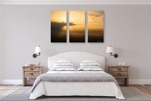 תמונה לחדר שינה - איזבלה אלקבץ - זריחה במצפה רמון - מק''ט: 313012