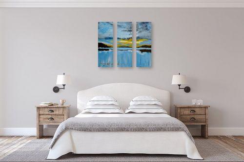 תמונה לחדר שינה - ורד אופיר - שקיעה - מק''ט: 313209