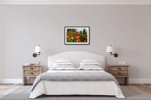 תמונה לחדר שינה - אורית גפני - צבע בטבע 1 - מק''ט: 314671
