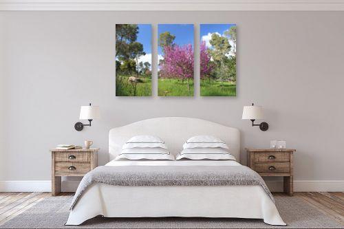 תמונה לחדר שינה - אבי סימן-טוב - אביב - מק''ט: 315714