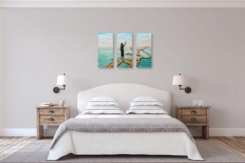 תמונה לחדר שינה - דיאנה אורן - ים המלח - מק''ט: 315915