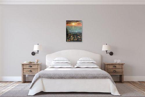 תמונה לחדר שינה - דיאנה אורן - מבט מהצוק - מק''ט: 315956