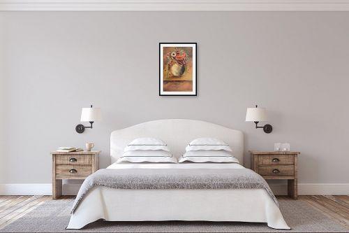 תמונה לחדר שינה - דיאנה אורן - עציץ - מק''ט: 316191