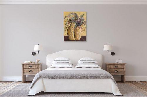 תמונה לחדר שינה - דיאנה אורן - עציצים - מק''ט: 316193
