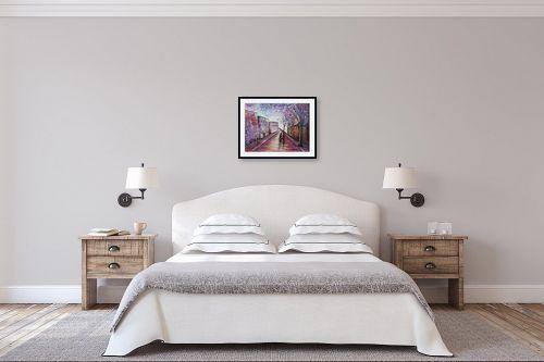 תמונה לחדר שינה - דיאנה אורן - שיבה הביתה - מק''ט: 316279
