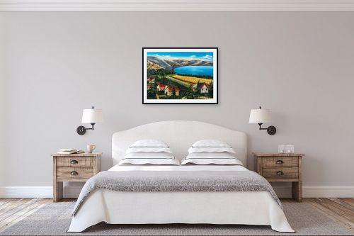 תמונה לחדר שינה - מזל בוכריס - צפון הכנרת - מק''ט: 316334