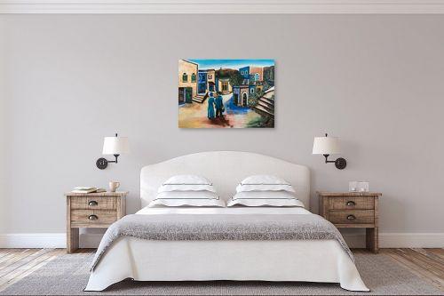 תמונה לחדר שינה - מזל בוכריס - השיבה הביתה - מק''ט: 316445