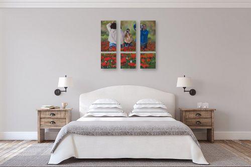 תמונה לחדר שינה - אסתר טל - צילום בשדה פרגים - מק''ט: 316659