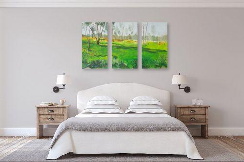 תמונה לחדר שינה - אסתר טל - כלניות - מק''ט: 316660