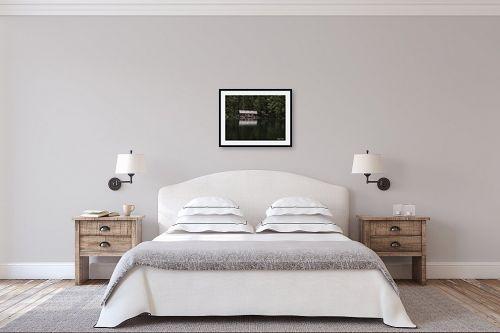 תמונה לחדר שינה - אלעד דרור - בקתה באגם - מק''ט: 316722