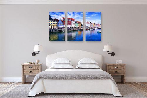 תמונה לחדר שינה - אורית גפני - החיים צבעוניים - מק''ט: 316959