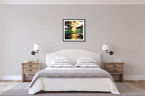תמונה לחדר שינה - רעיה גרינברג - The moon - מק''ט: 317016