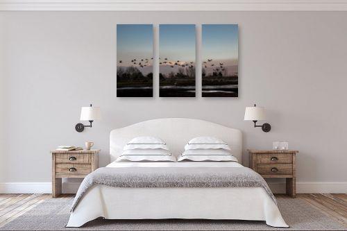 תמונה לחדר שינה - אלעד דרור - החולה בשקיעה - מק''ט: 317436