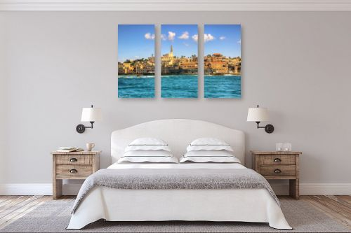 תמונה לחדר שינה - מתן הירש - יפו והים - מק''ט: 317558