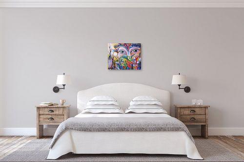 תמונה לחדר שינה - אילה ארויו - סימפוניית צבעים - מק''ט: 318408