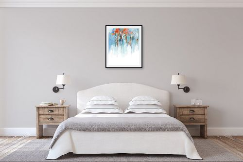 תמונה לחדר שינה - גורדון - מופשט אורבני - מק''ט: 318672