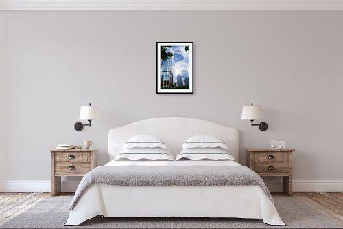תמונה לחדר שינה - אלי נגר - ניו-יורק שמים - מק''ט: 318987