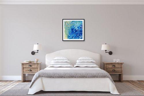 תמונה לחדר שינה - אירית שרמן-קיש - זרימה - מק''ט: 318988