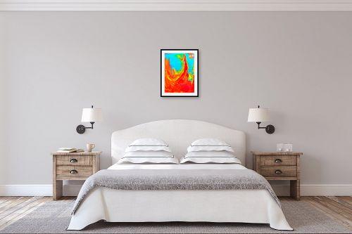 תמונה לחדר שינה - אירית שרמן-קיש - אימא אדמה - מק''ט: 319012