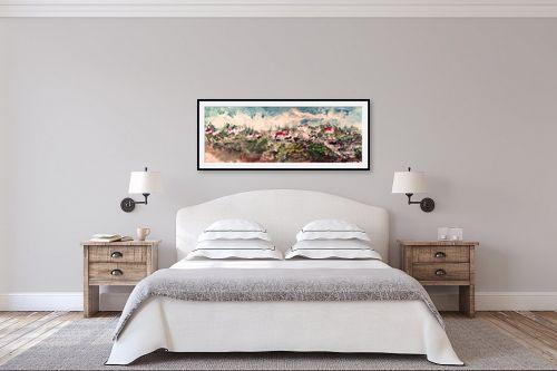 תמונה לחדר שינה - Red סטודיו - נוף מולדת - מק''ט: 319938