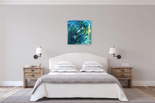 תמונה לחדר שינה - אירית שרמן-קיש - זרמים במרחב - מק''ט: 319968