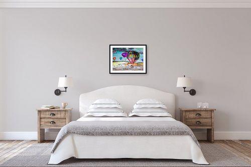 תמונה לחדר שינה - Red סטודיו - צבע במדבר - מק''ט: 320261