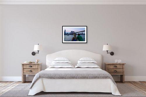 תמונה לחדר שינה - אלי נגר - זוג - מק''ט: 320428