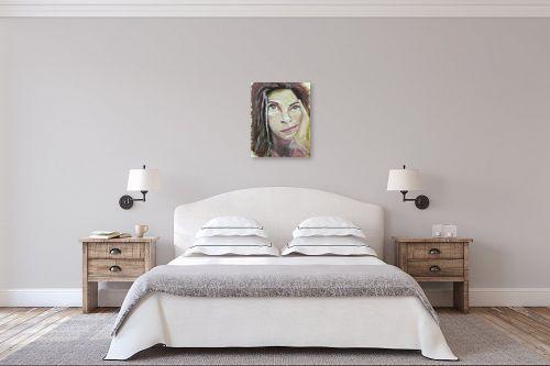 תמונה לחדר שינה - אילה ארויו - רגע מחשבה - מק''ט: 320615
