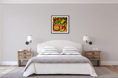 תמונה לחדר שינה - אסתר חן-ברזילי - קרמיקות - מק''ט: 320938