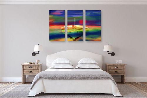 תמונה לחדר שינה - אורית גפני - ארץ רחוקה - מק''ט: 320968